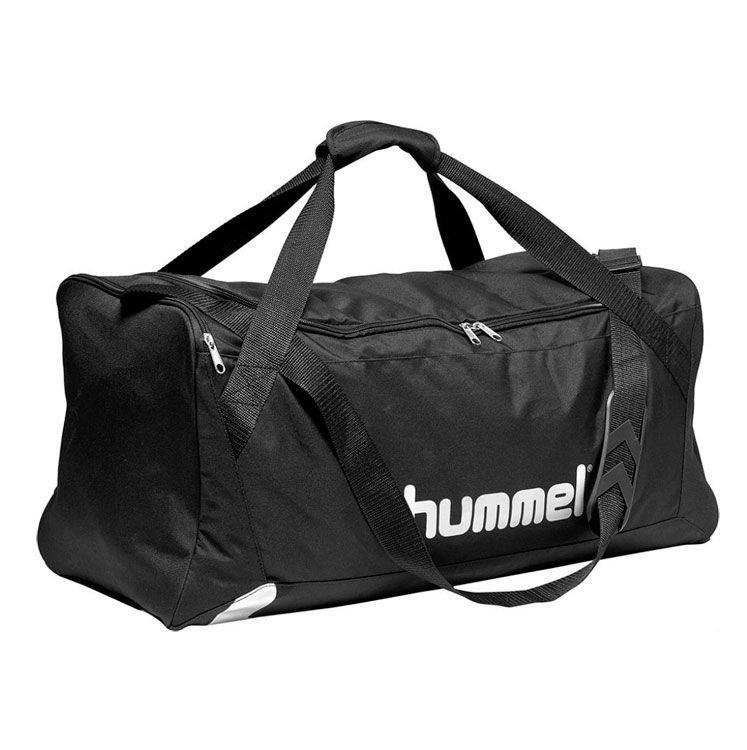 Hummel Core Sportstaske, sort - Medium thumbnail