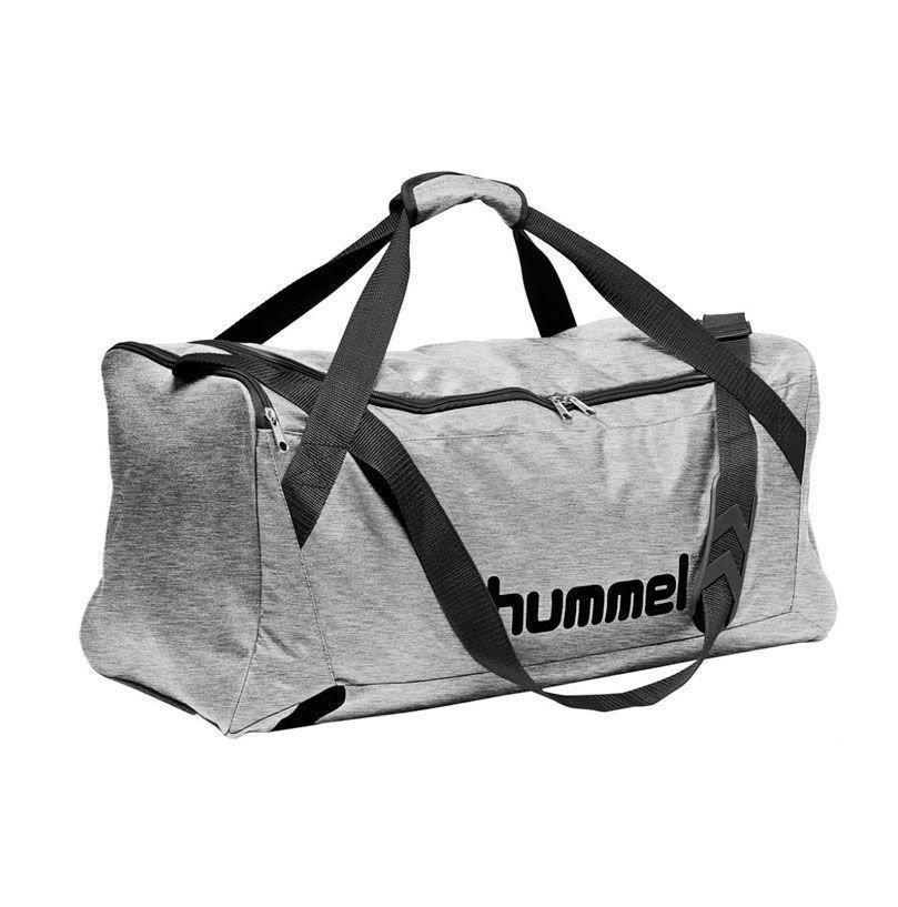 Hummel Core Sportstaske, grå melange - Small thumbnail