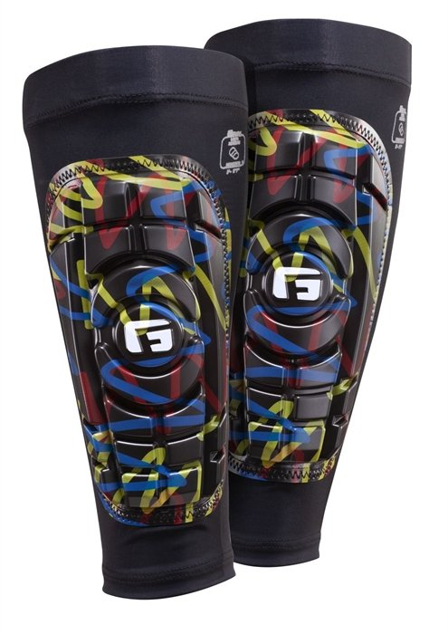 G-Form 53152 Shin Guards Pro-S Graffiti Benskinner - BØRN thumbnail
