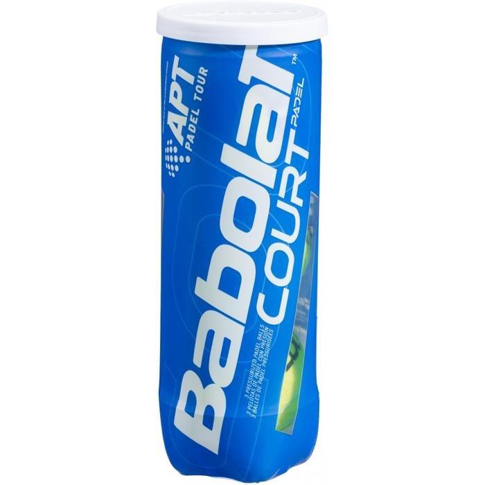 Køb Babolat Court Padel bolde – 3 stk.