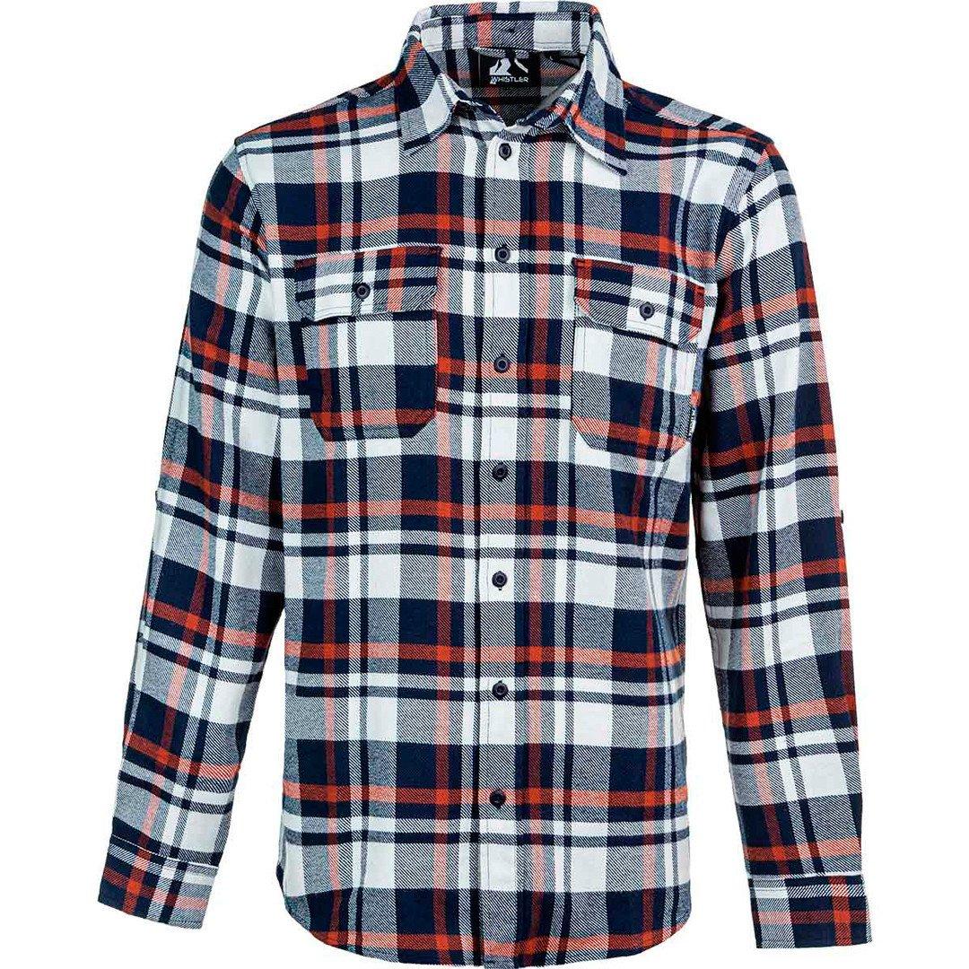 Whistler Outdoor skjorte Flannel Checked Shirt Herre