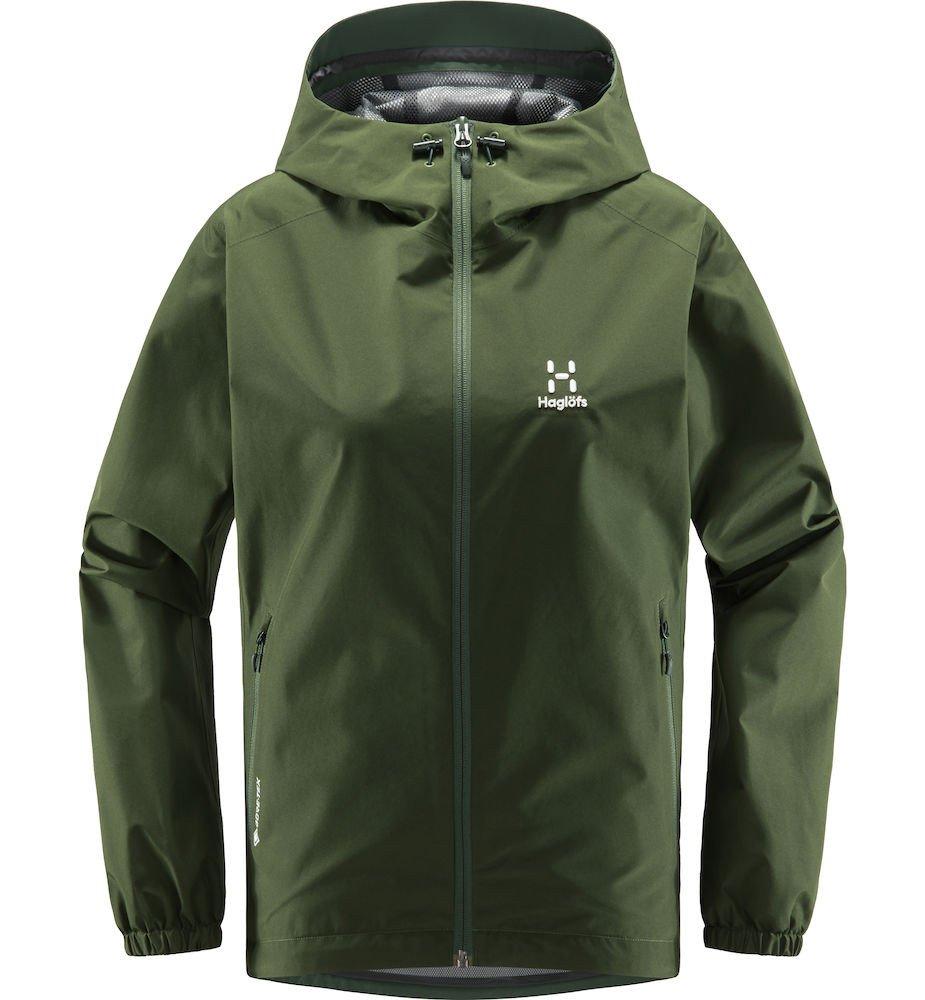 Haglófs Betula GTX Regnjakke Dame, grøn