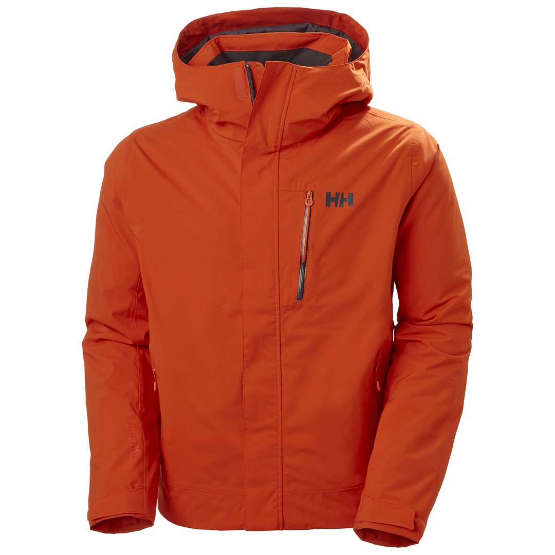Helly Hansen Bonanza Vinter- og skijakke Herre, orange