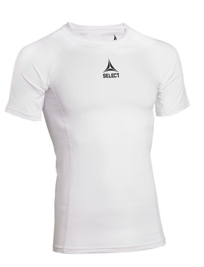 Select 62353 Baselayer t-shirt Herre, hvid