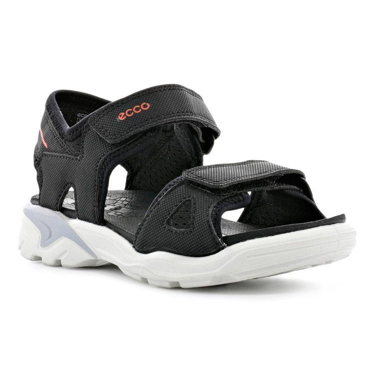 Ecco Biom Raft Børnesandal, sort