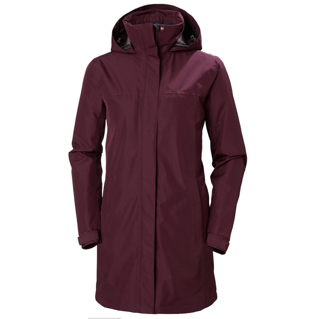 Helly Hansen Aden Long Insulated Regnjakke Dame