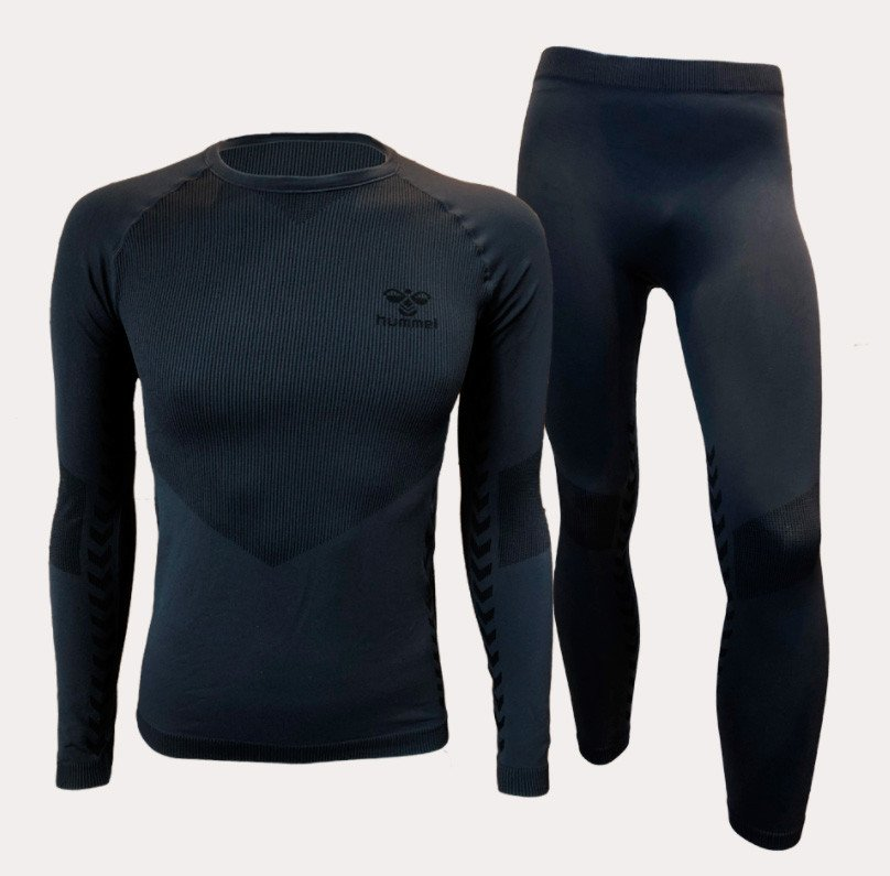 Hummel Seamless Baselayer Sæt, navy
