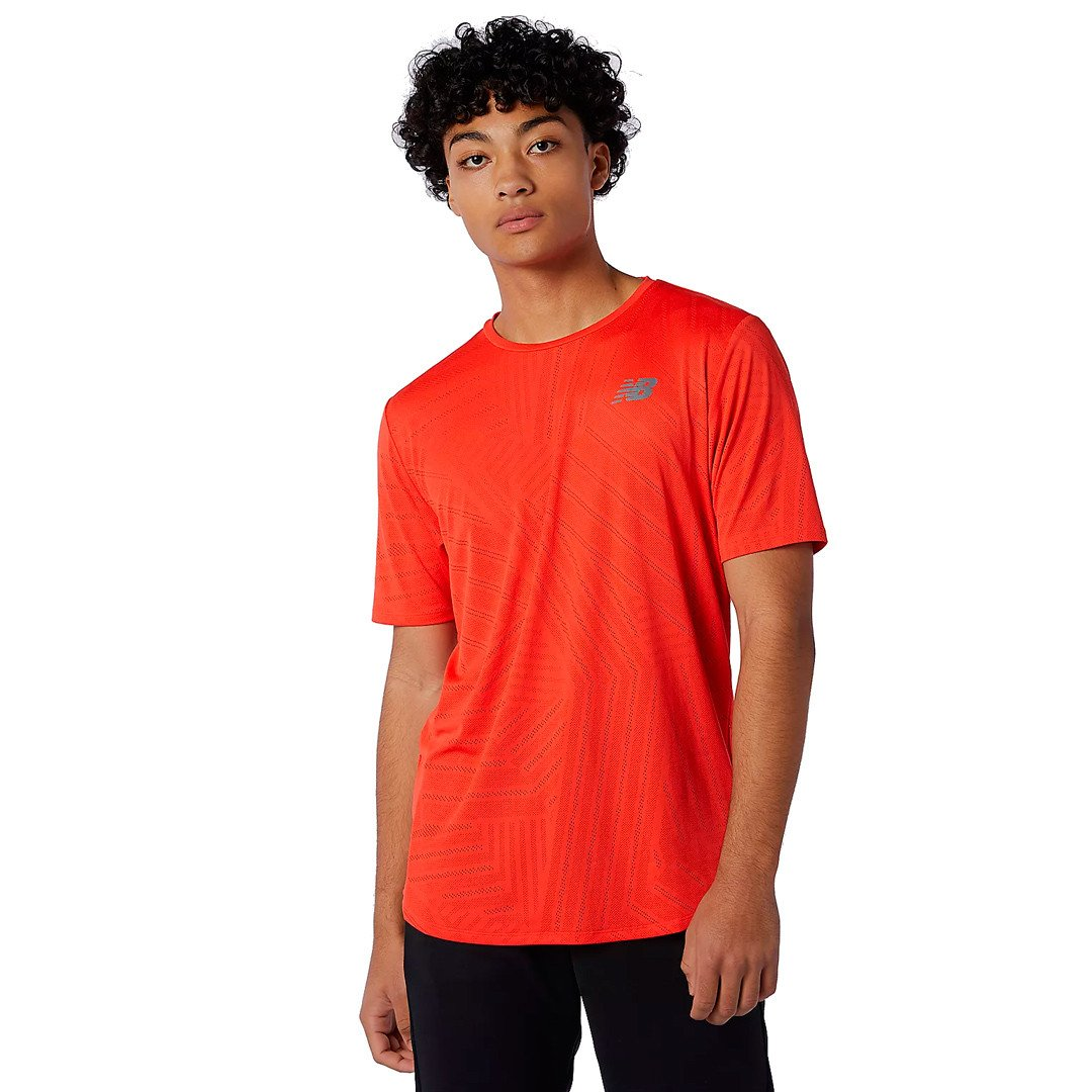 New Balance Q Speed Fuel T-shirt Herre