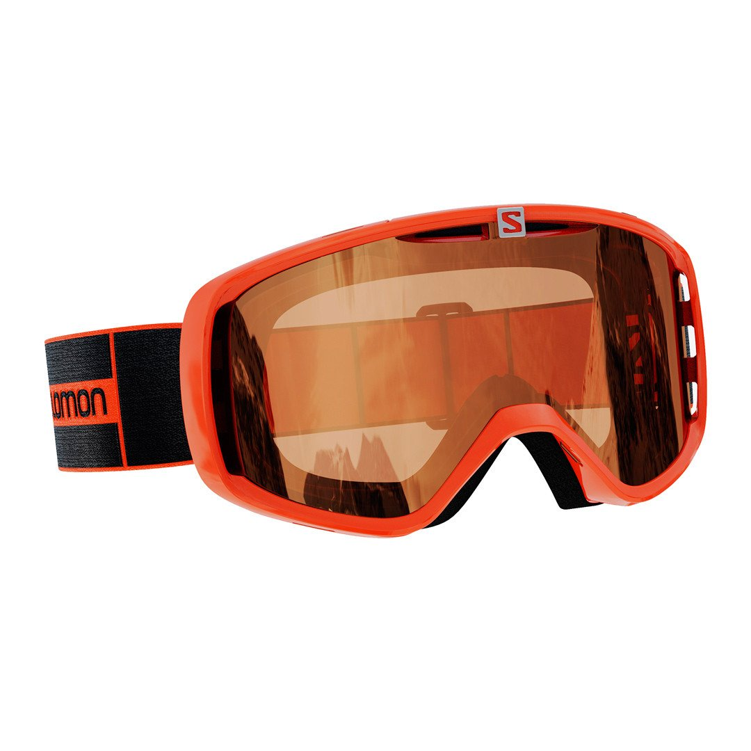 Salomon Aksium Access Skibriller, orange