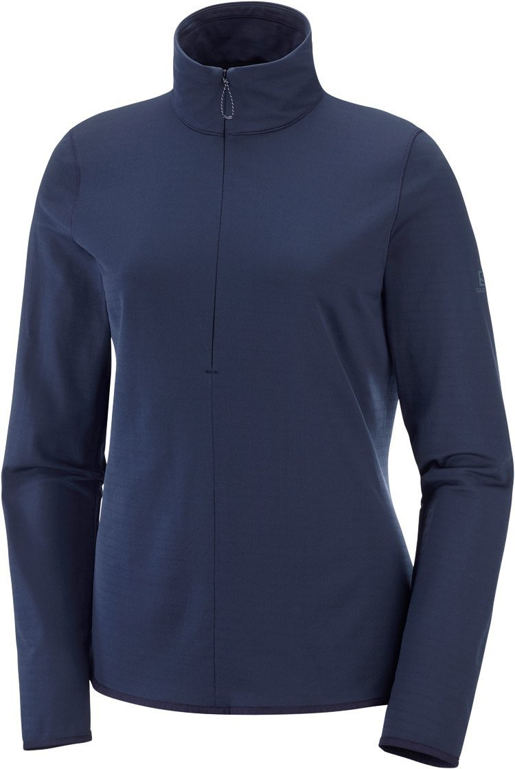 Salomon Outrack Half-Zip Midlayer Dame