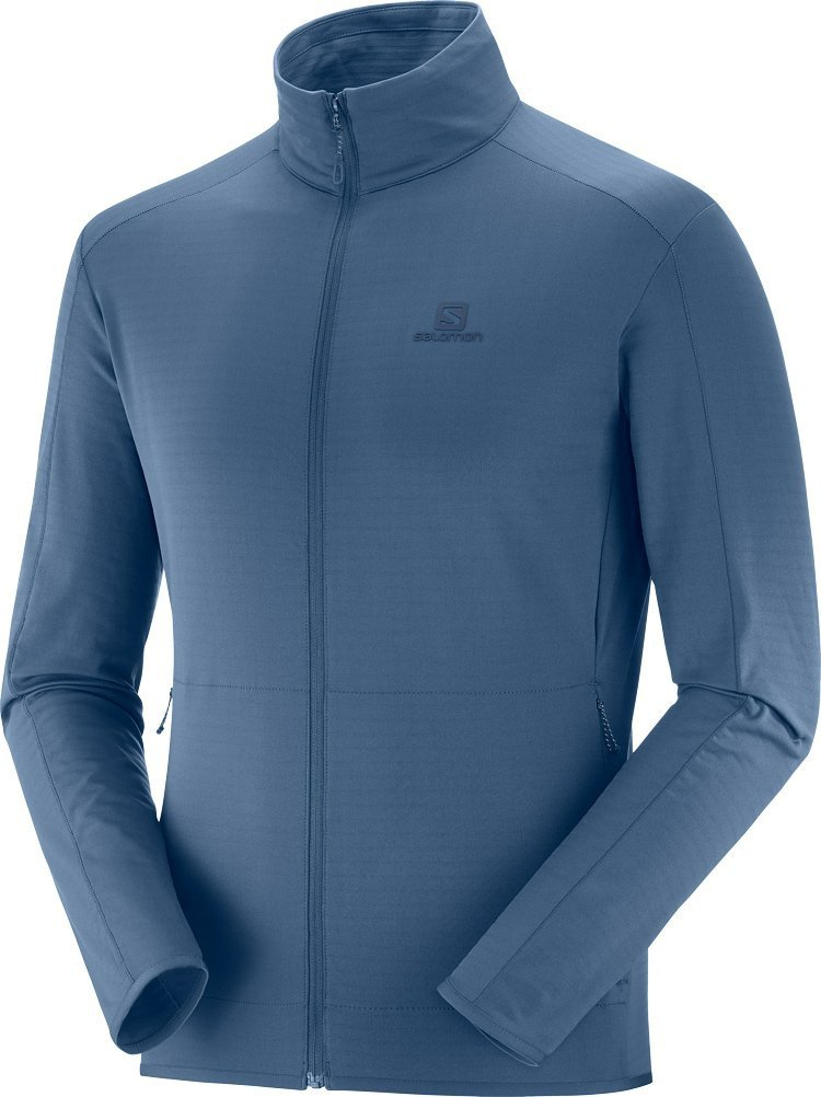 Salomon Outrack Full-Zip Midlayer Herre