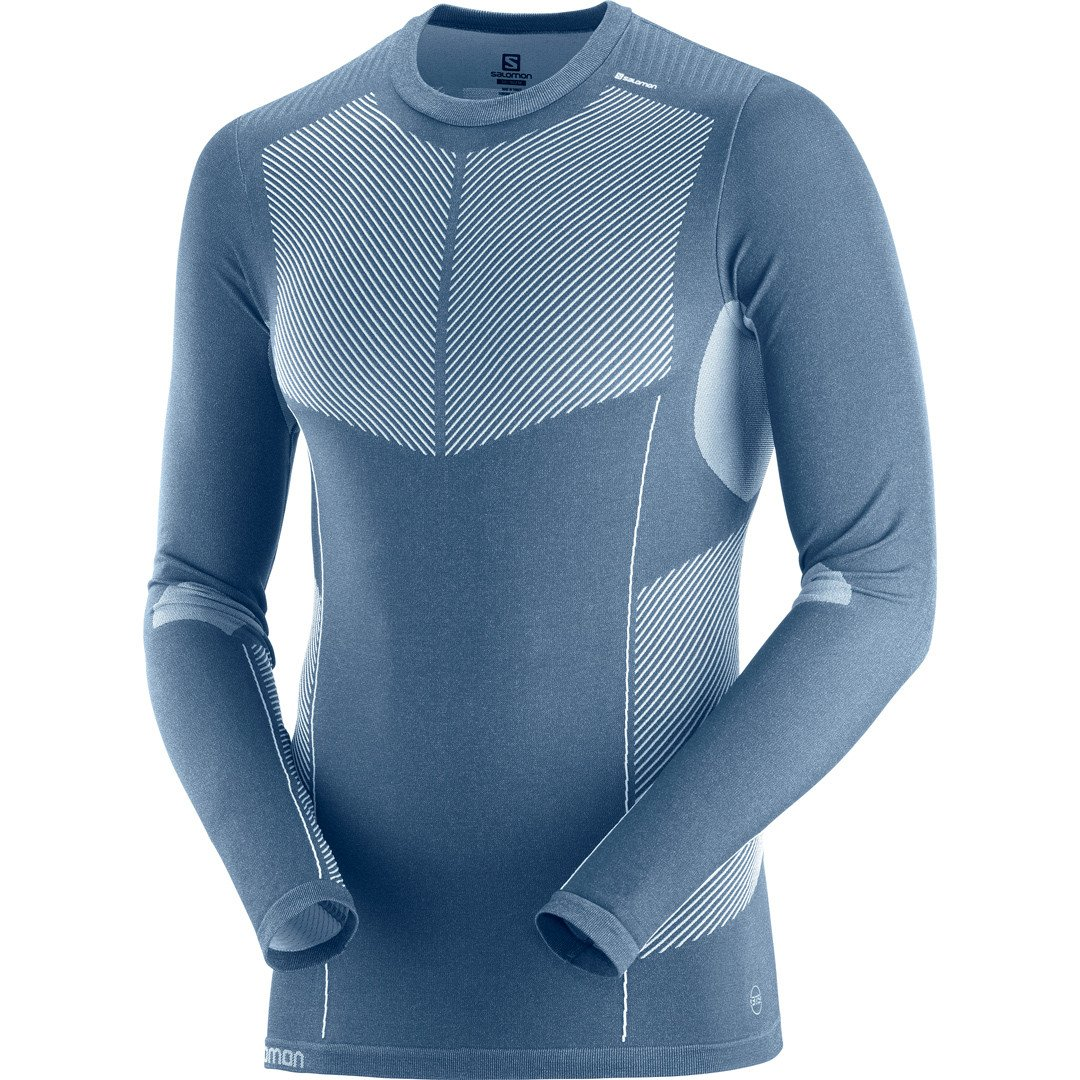 Salomon Primo Warm Seamless Skiundertrøje Herre