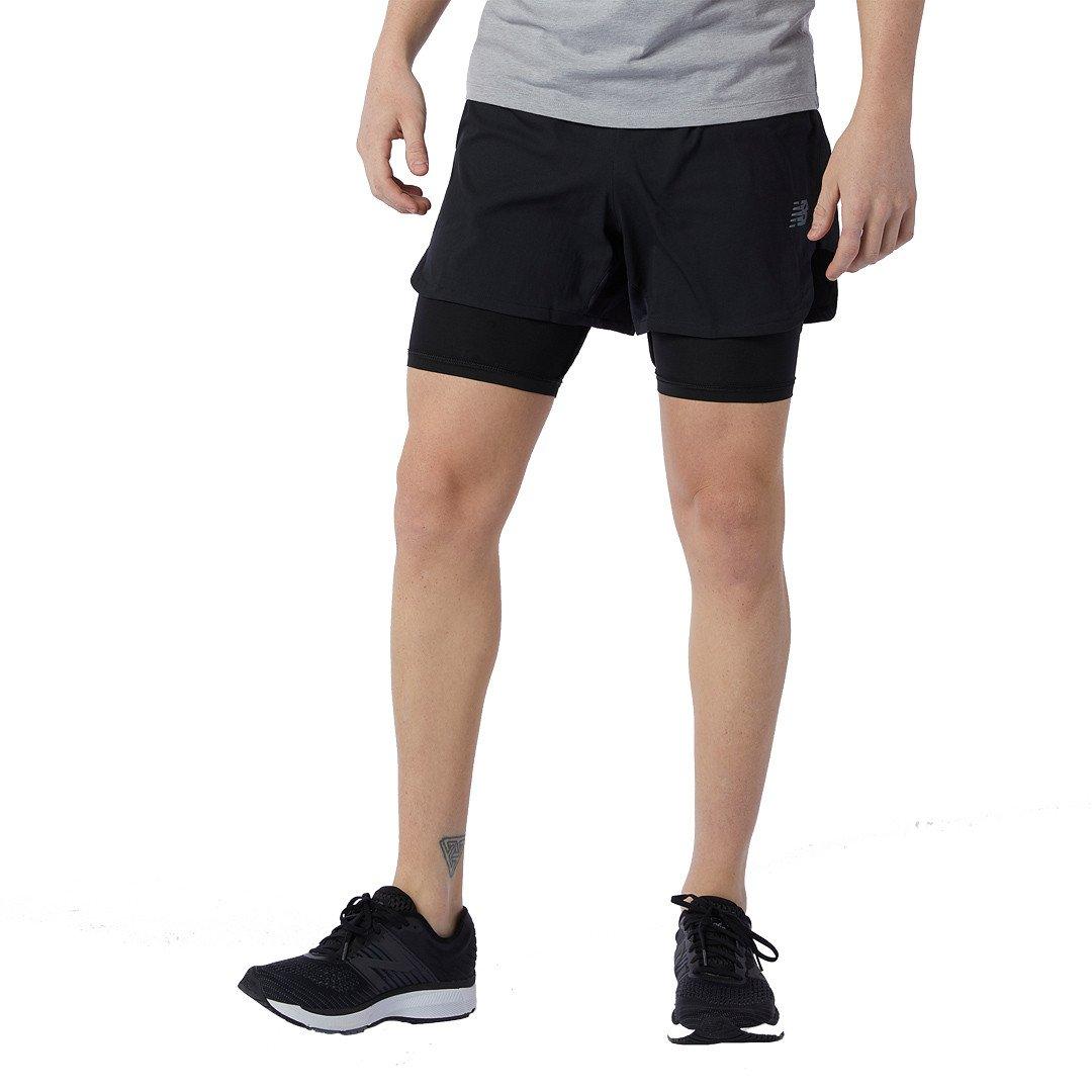 New Balance Q Speed Fuel 2IN1 Shorts Herre