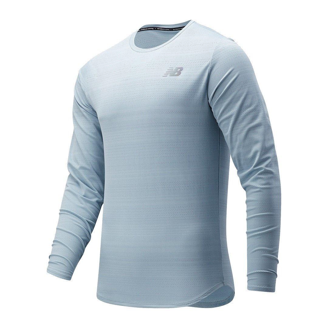 New Balance Q Speed Fuel Langærmet T-shirt Herre