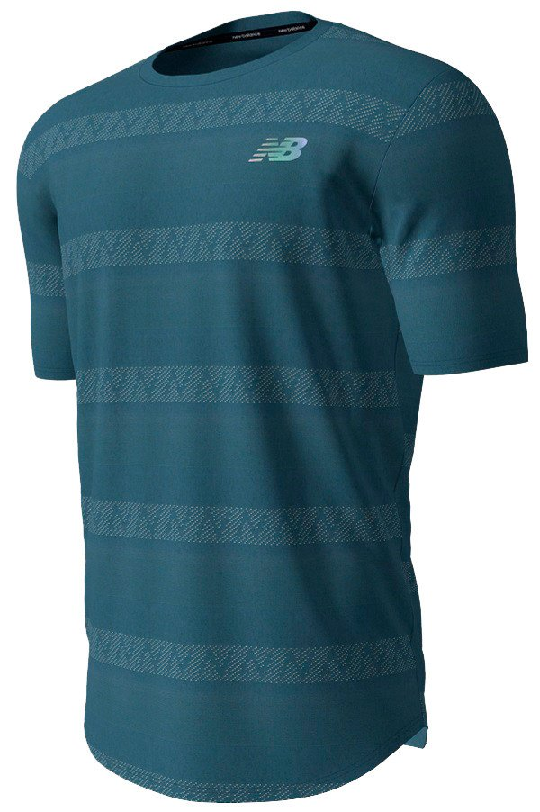 New Balance Speed Jacquard T-shirt Herre