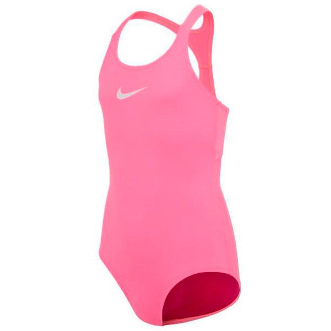 Nike Essential Racerback 1-Piece Badedragt Børn, sunset pulse