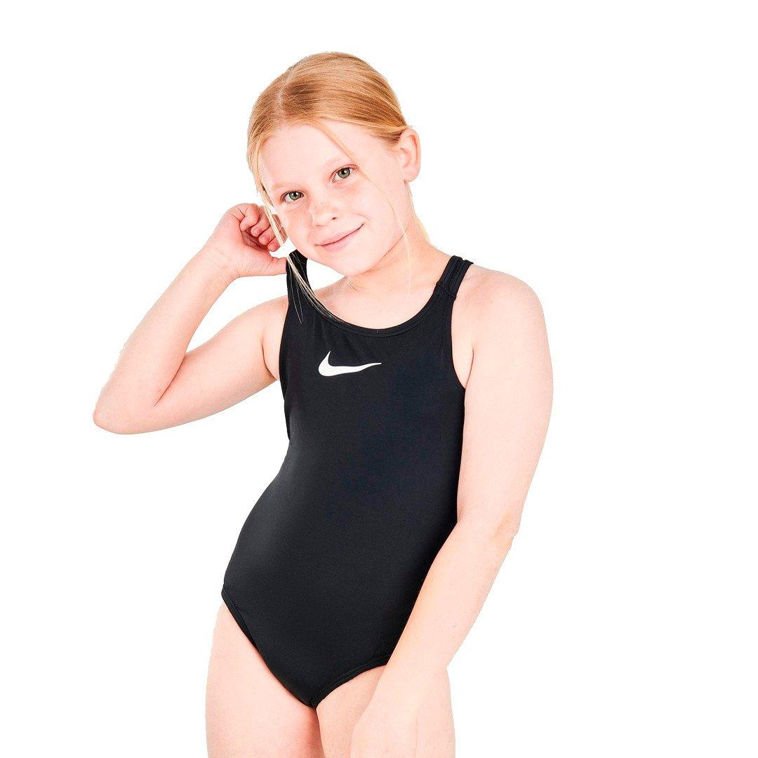 Nike Essential Racerback 1-Piece Badedragt Børn, black