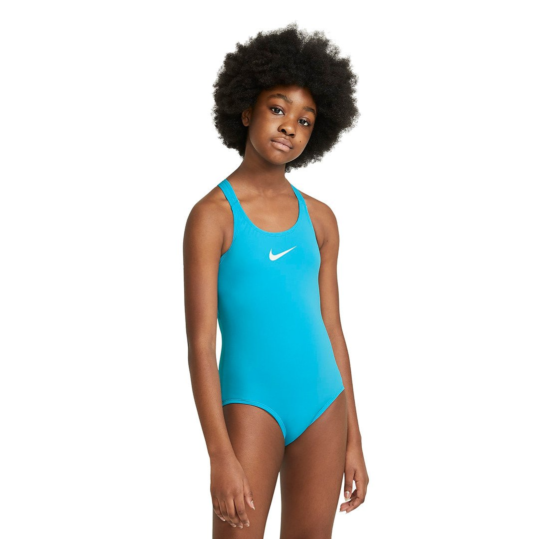 Nike Essential Racerback 1-Piece Badedragt Børn, chlorine blue