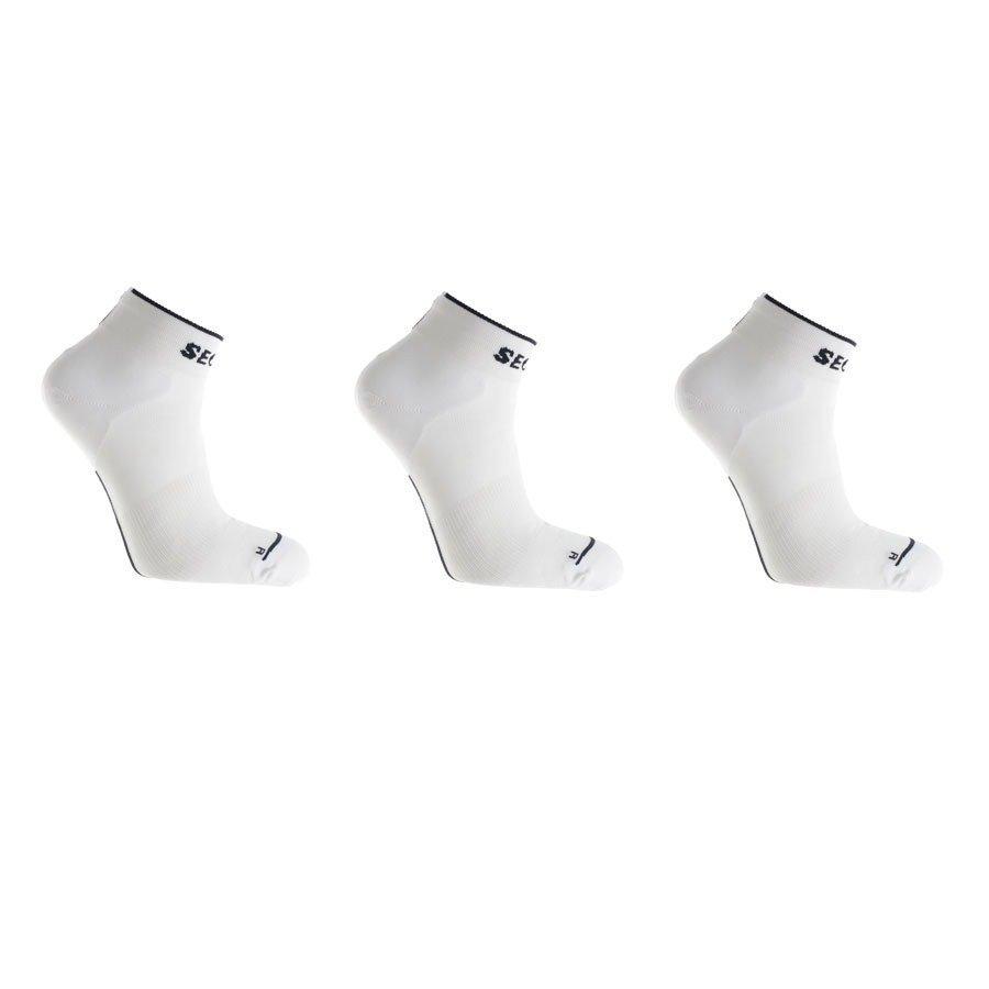Seger Basic løbestrømpe - 3 par