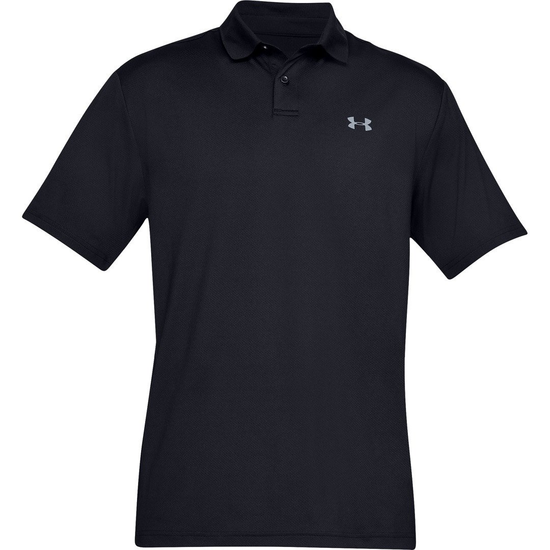 Under Armour Performance Polo 2.0 Herre, sort