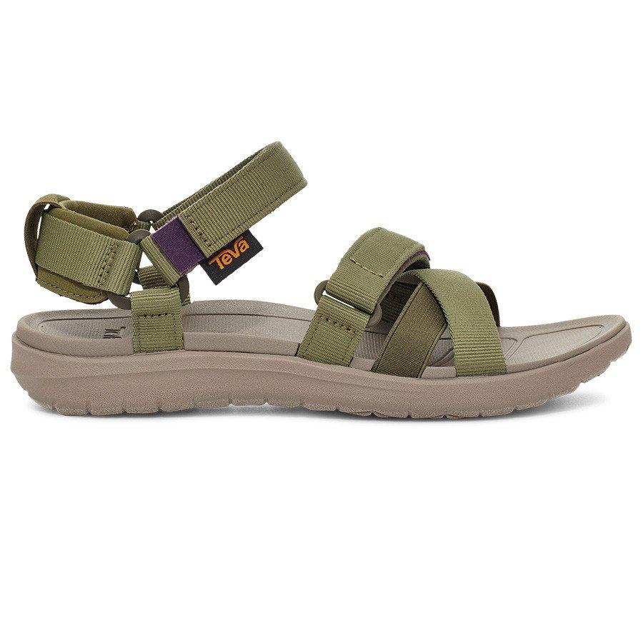 Teva Sanborn Mia Sandal Dame, olive