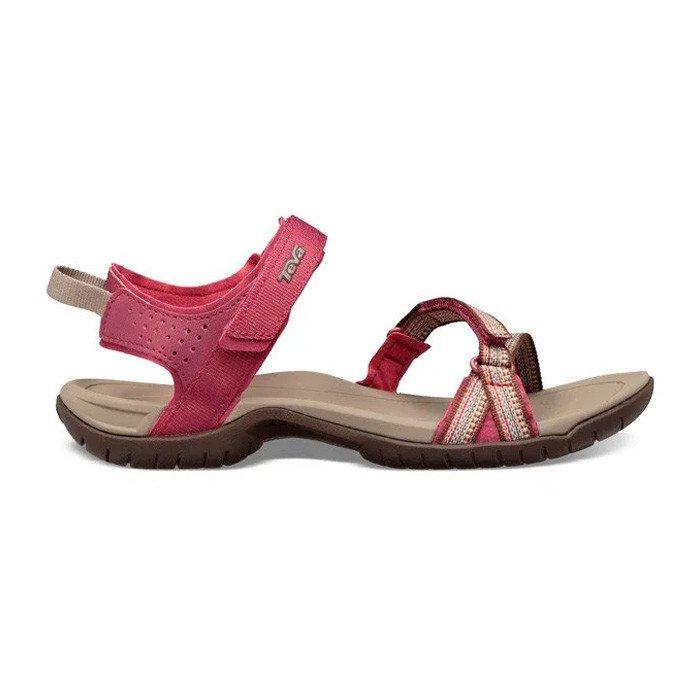 Teva Verra Sandal Dame, red plum