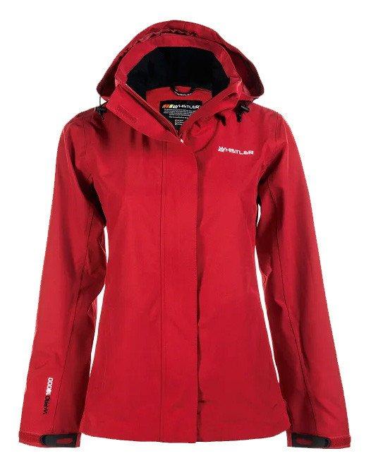 Whistler Kerlin 4 Way Stretch Regnjakke Dame, rød