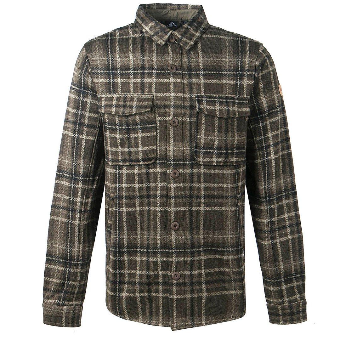 Whistler Outdoor skjorte Dewey Checked Fleece Jakke Herre