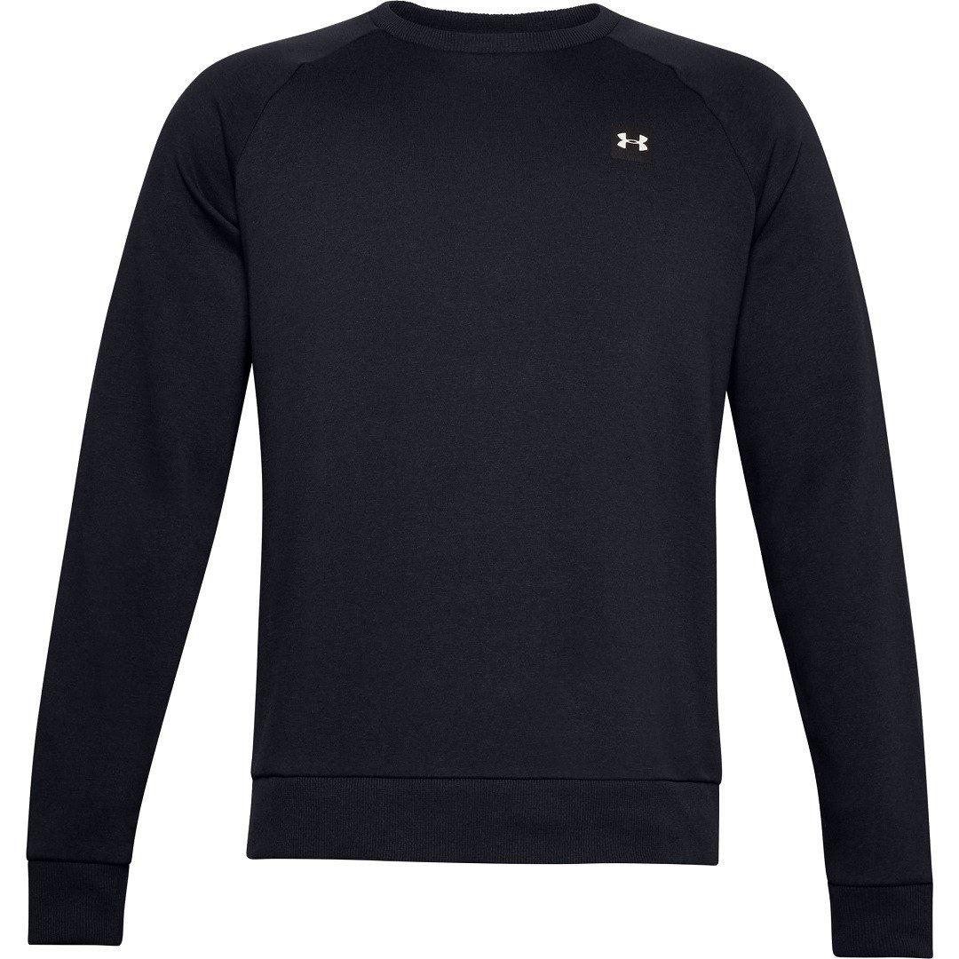 Under Armour Rival Fleece Crew Sweatshirt Herre, sort