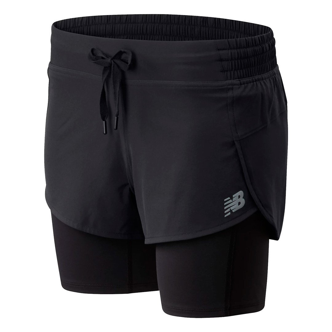 New Balance Impact Run 2IN1 Shorts Dame