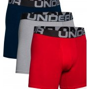 Under Armour Charged Cotton Boxer Shorts Herre - 3 Pack