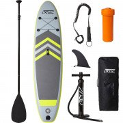 Cruz Oppustelig Stand Up Paddle board, Various Grey