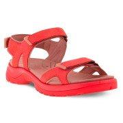 Ecco Yucatan 2.0 3S Sandal Dame, hibiscus