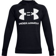 Under Armour Rival Fleece Big Logo Hoodie Herre, sort