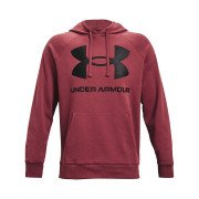 Under Armour Rival Fleece Big Logo Hoodie Herre, rød