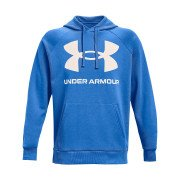 Under Armour Rival Fleece Big Logo Hoodie Herre, blå