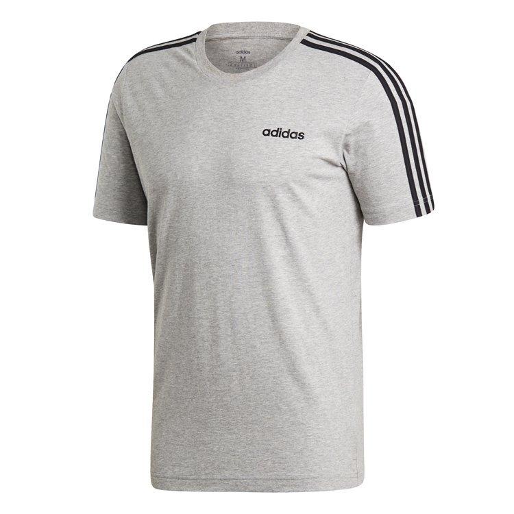 Adidas Essentials 3-Stripes T-Shirt Herre thumbnail