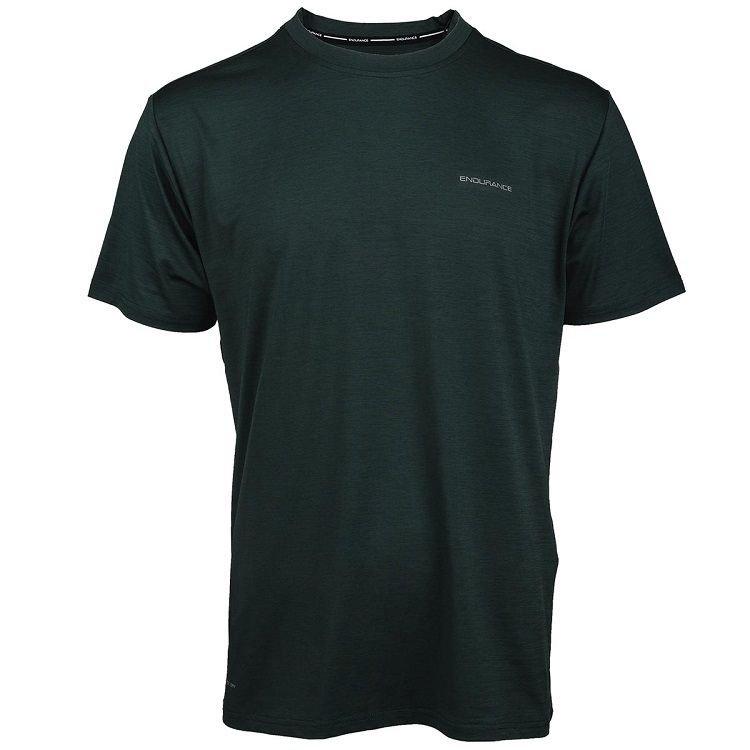 Endurance Mell Melange T-shirt Herre thumbnail