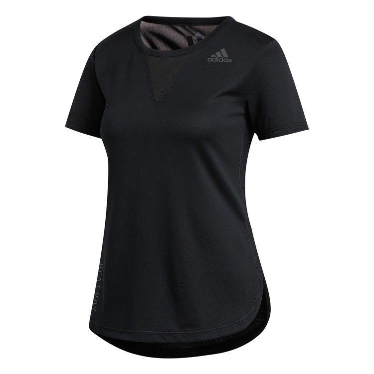 Adidas HEAT.RDY 3-Stripes T-Shirt Dame thumbnail