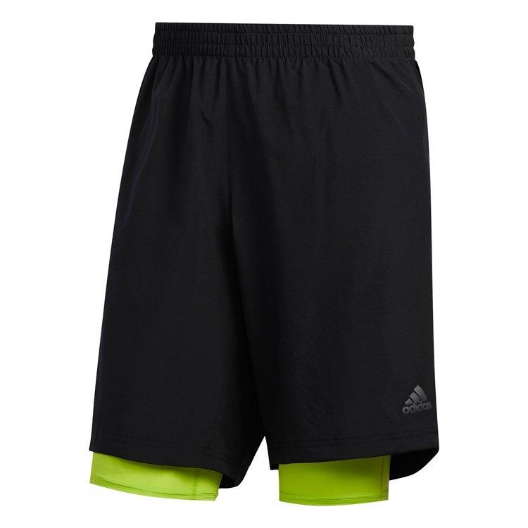 Adidas Own The Run 2N1 Løbeshorts Herre thumbnail