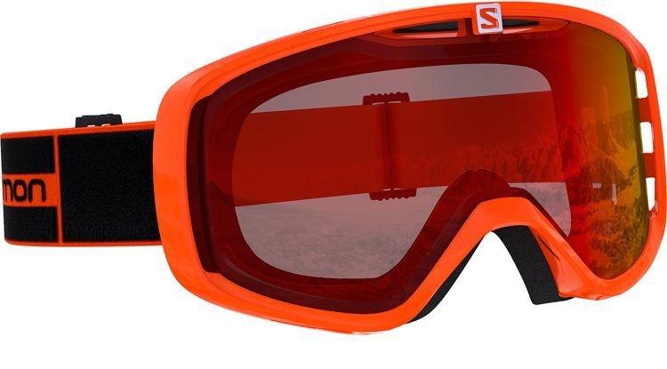 Salomon Aksium Skibriller, orange thumbnail