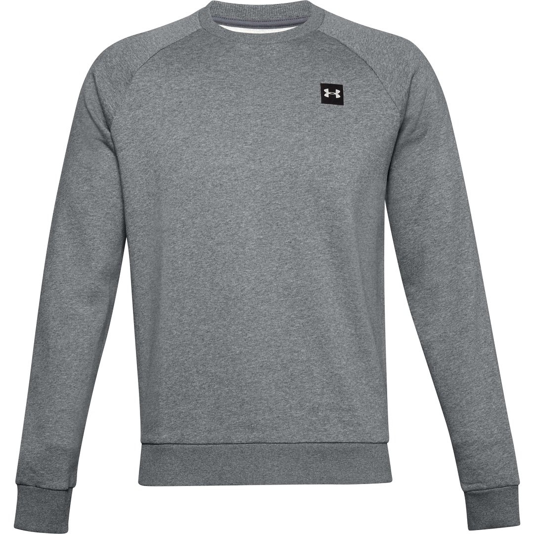 Under Armour Rival Fleece Crew Sweatshirt Herre, grå thumbnail