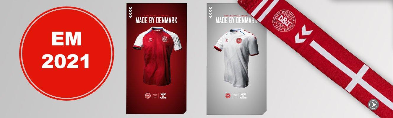 EM 2021 - vi hepper på Danmark
