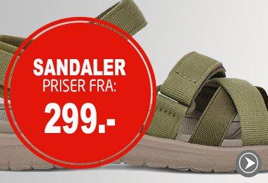 Sandaler - til skarpe priser