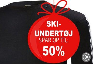 Skiundertøj  Spar op til 50%