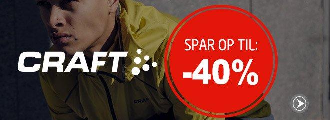 Craft spar op til: 40%