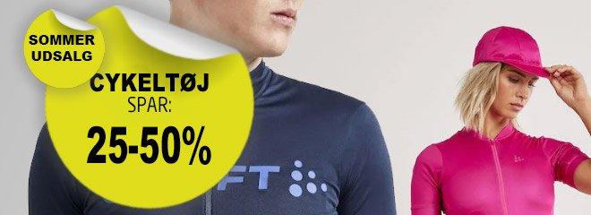 Cykeltøj spar op til: 50%