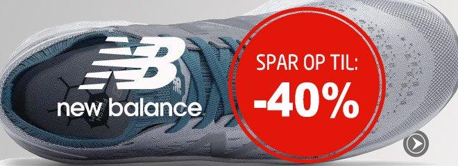 New Balance spar op til: 40%