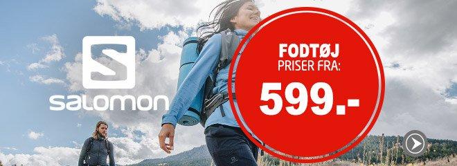 Salomon Fodtøj priser fra: 599.-