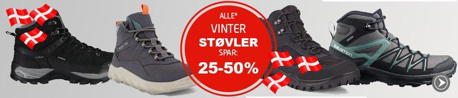 Alt* Vinterfodtøj spar min. 25%